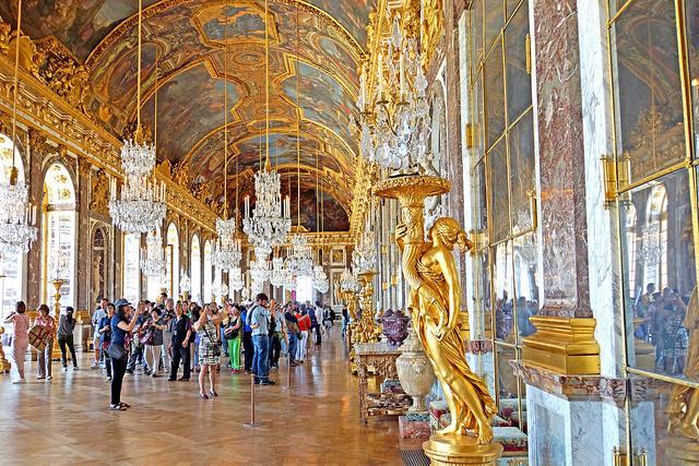 Galerie des Glaces, Château de Versailles, Versailles